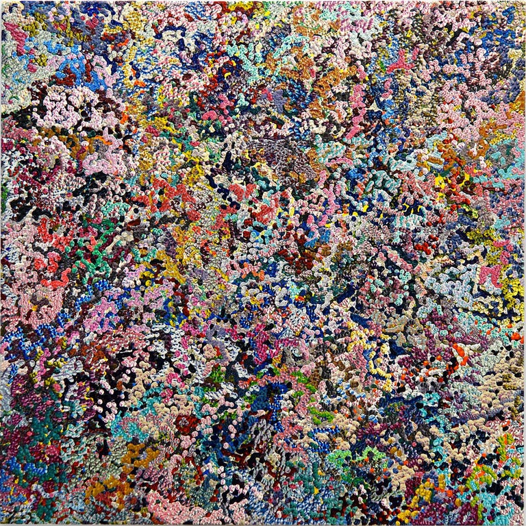 Gregory Hayes Abstract Painting - 2nd Amalgamation