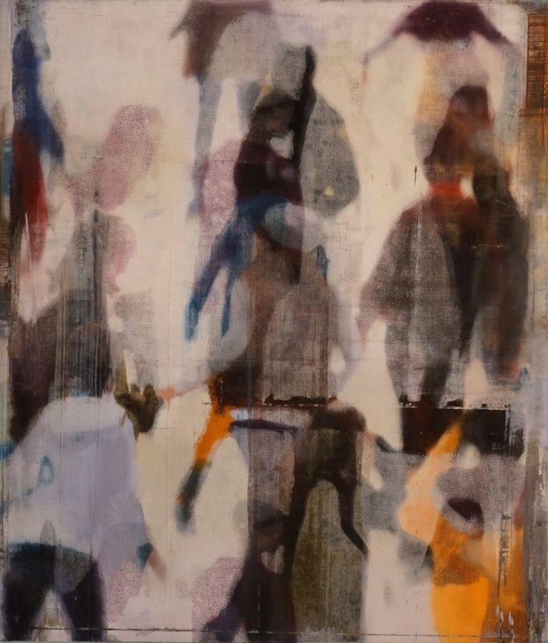 Philip Buller See Through Crowd For Sale At 1stdibs