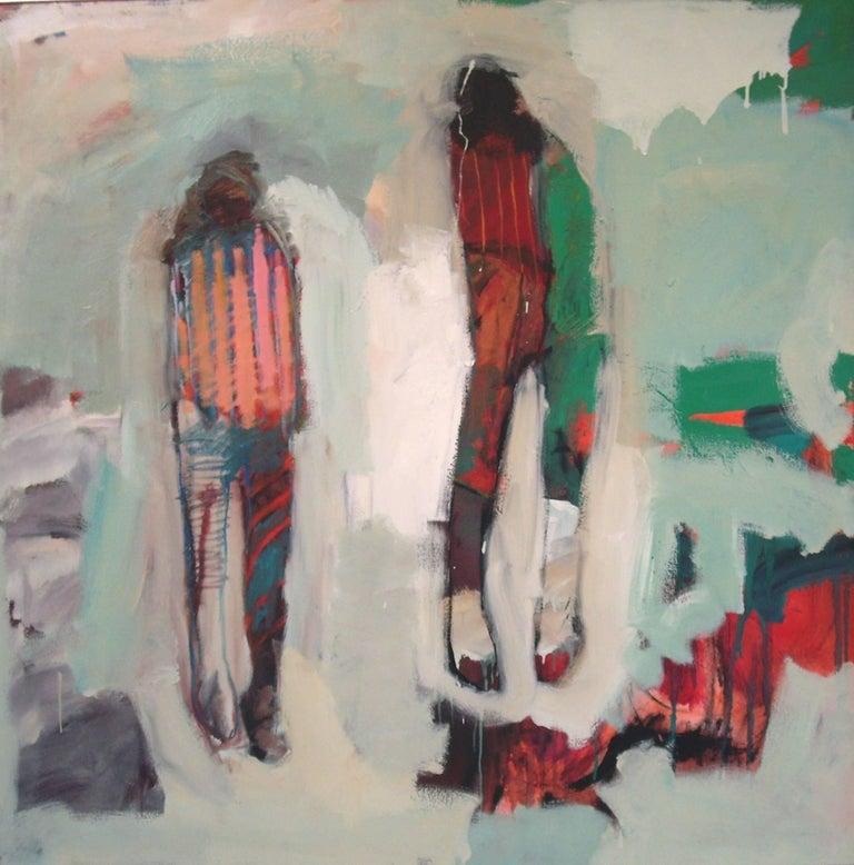 Chris Gwaltney Figurative Painting - Bend Don't Break