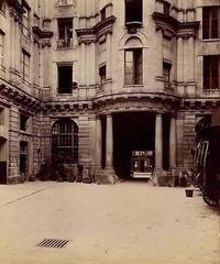 Eugene Atget - Hôtel de Beauvais 68, rue François Miron