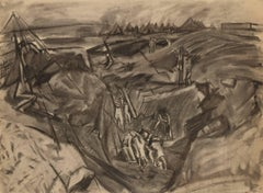 David Bomberg - Quarrying, Zionist Development