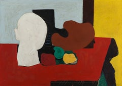 Still Life (Red and Yellow)