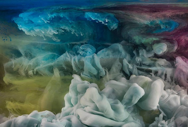Kim Keever Abstract Photograph - Abstract 33207c