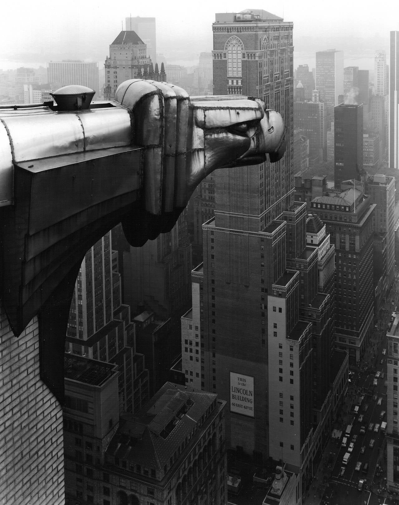 George Tice From The Chrysler Building