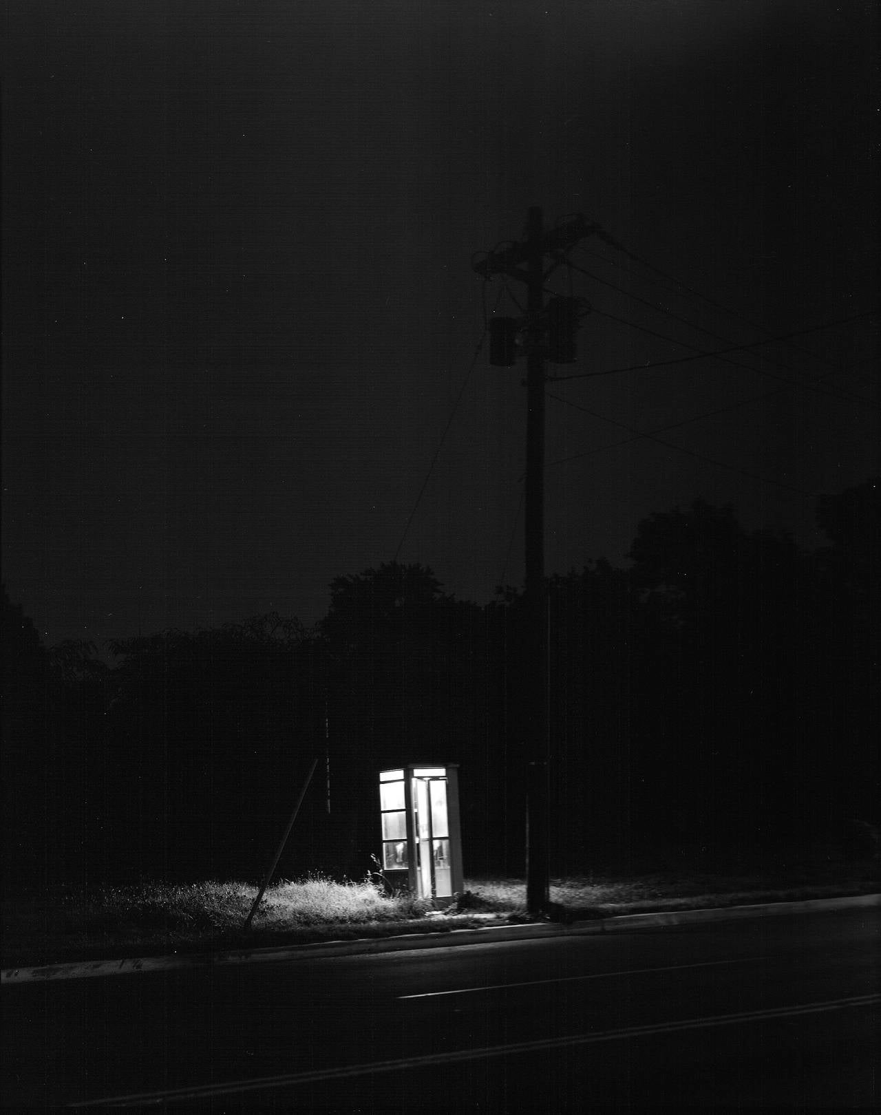 George Tice Telephone Booth 3 AM Rahway NJ Photograph For Sale At 1stdibs