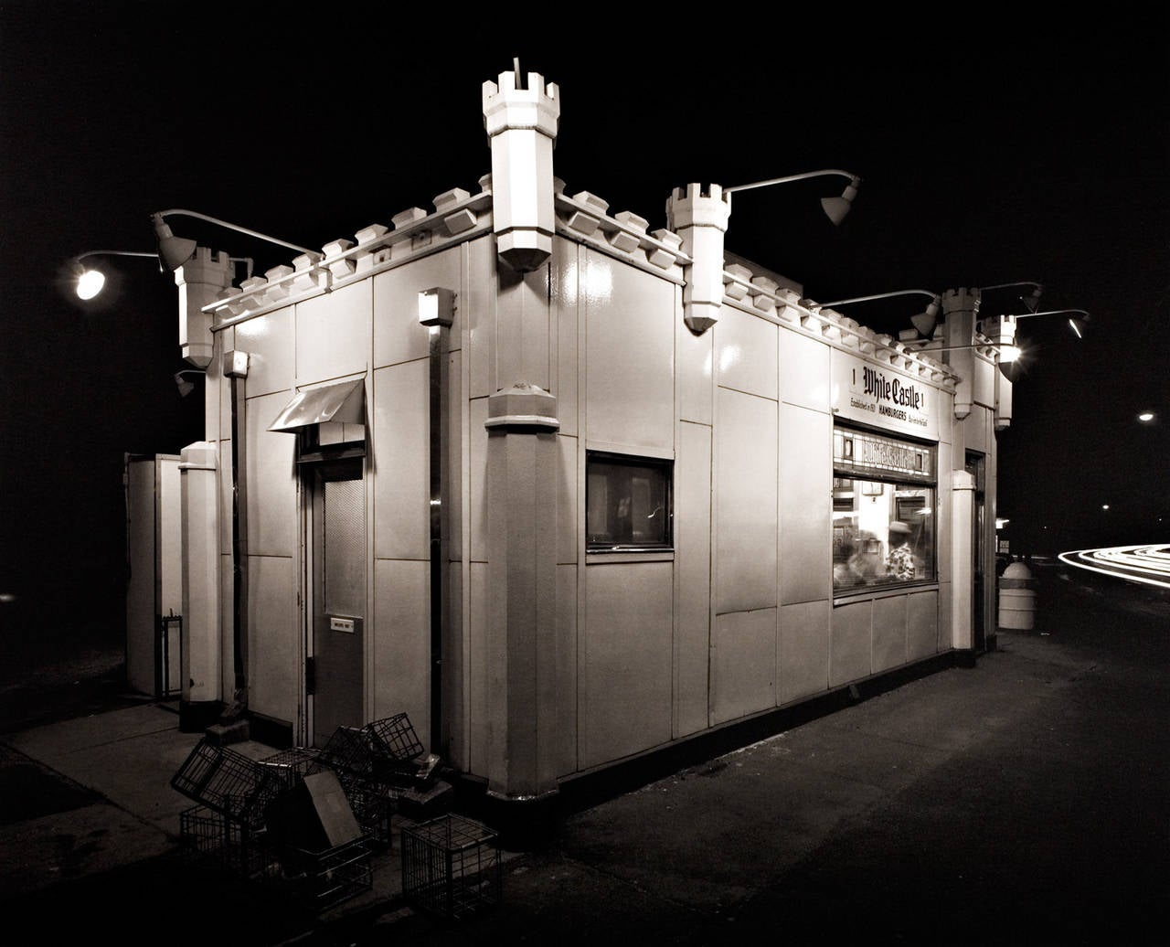 George Tice White Castle Route 1 Rahway Photograph For Sale At 1stdibs
