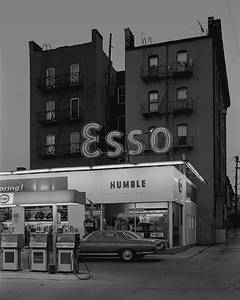 Esso Station and Tenement House, Hoboken, NJ,