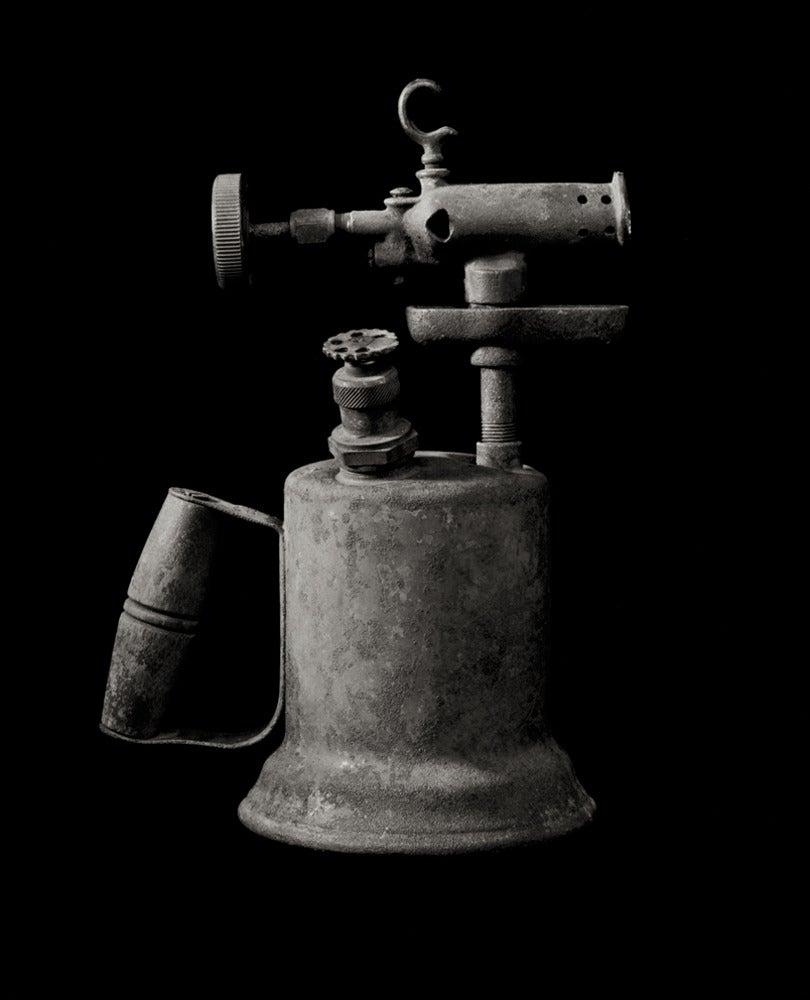 Richard Kagan Black and White Photograph - Blowtorch