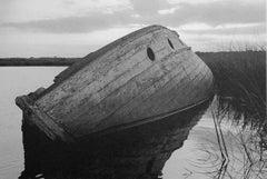 Wrecked Boat, Cheesequake Creek, Morgan, NJ