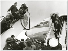 The Beatles Arrive in the US on Pan Am