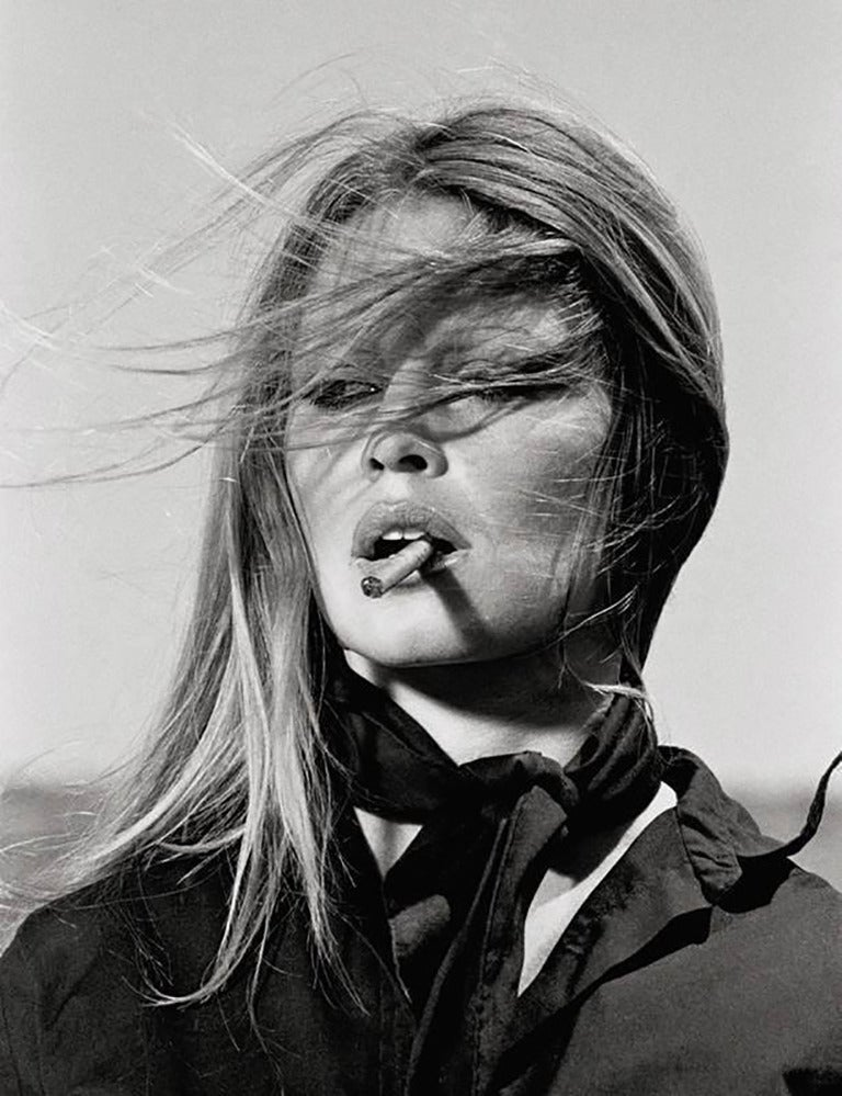 Brigitte Bardot with Cigar, Spain, co-signed editions