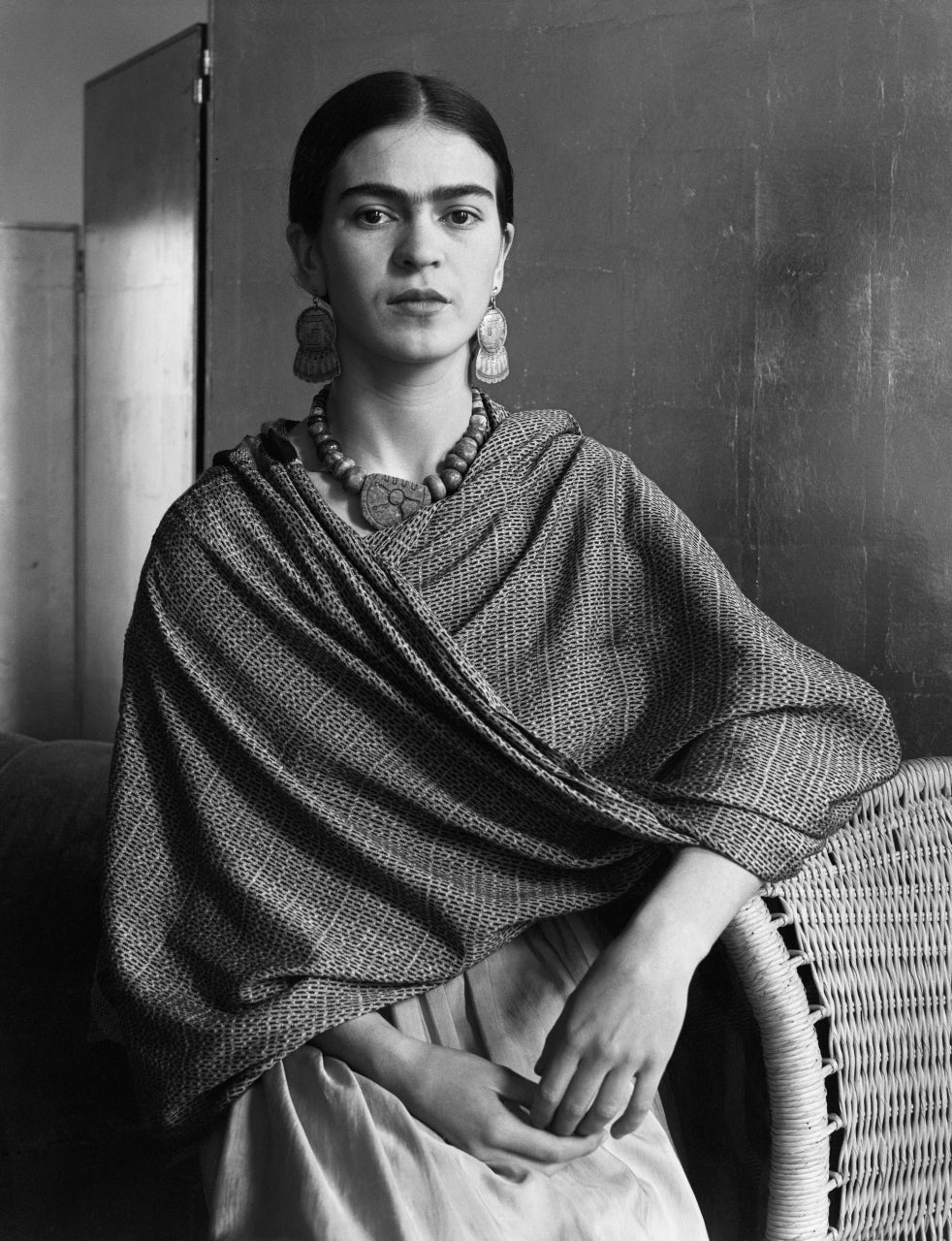 Imogen Cunningham Black and White Photograph - Frida Kahlo Rivera, Painter and Wife of Diego Rivera