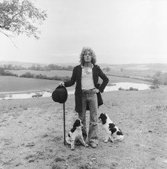 Roger Daltrey at home in England