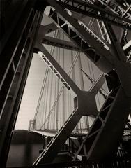 Steel-work of the George Washington Bridge