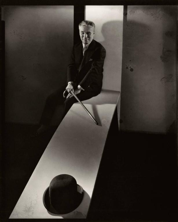 43ed59d8b20e9 Edward Steichen Black and White Photograph - Charlie Chaplin