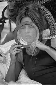 Brigitte Bardot during the filming of 'The Novices'