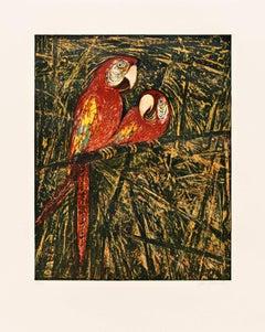 Untitled (Parrots)