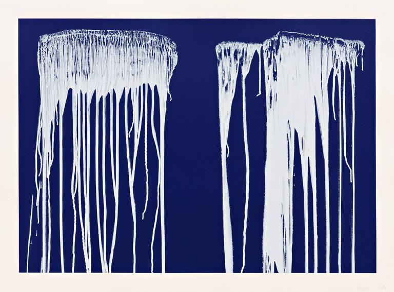 Pat Steir Abstract Print - Untitled