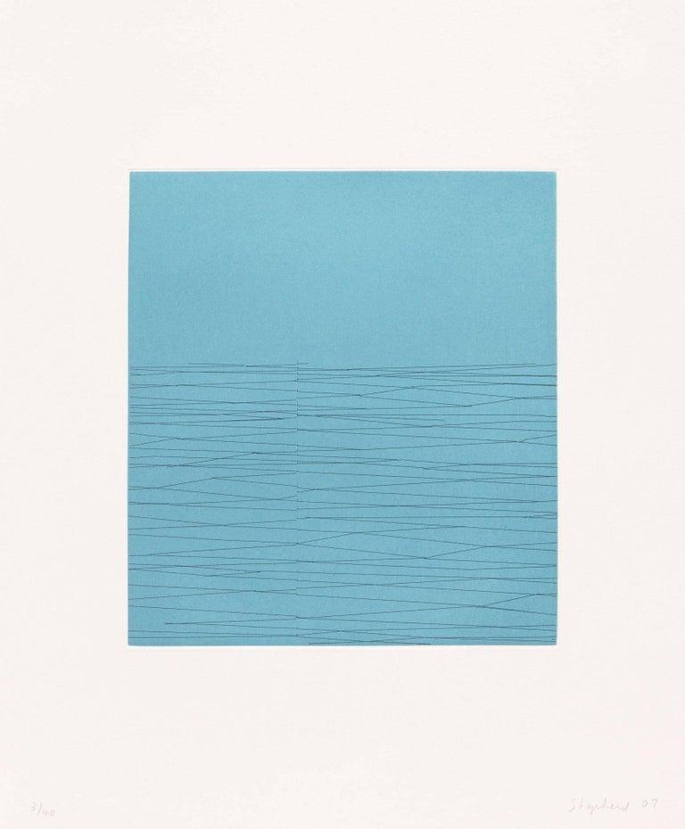 Kate Shepherd Abstract Print - Baudelaire