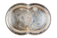 Jaydan Moore, Specimen #21, 2018 Found Silver-Plated Platter