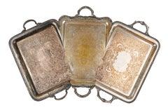 Jaydan Moore, Specimen #19, 2018 Found Silver-Plated Platter