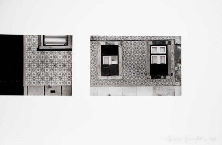 Lisbon Facades - Contemporary Photograph by Sean Scully
