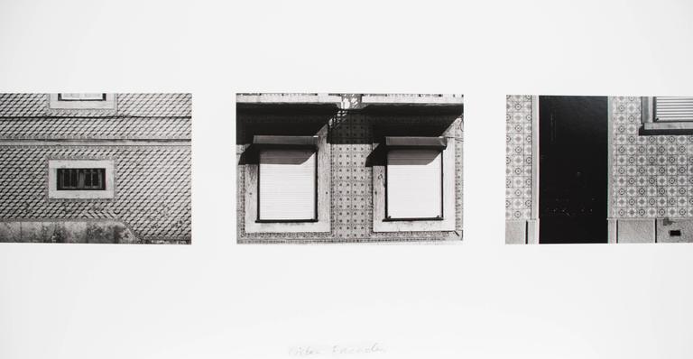 Lisbon Facades - Photograph by Sean Scully