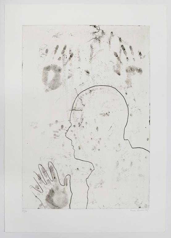Marc Quinn Figurative Print - Untitled, 1995
