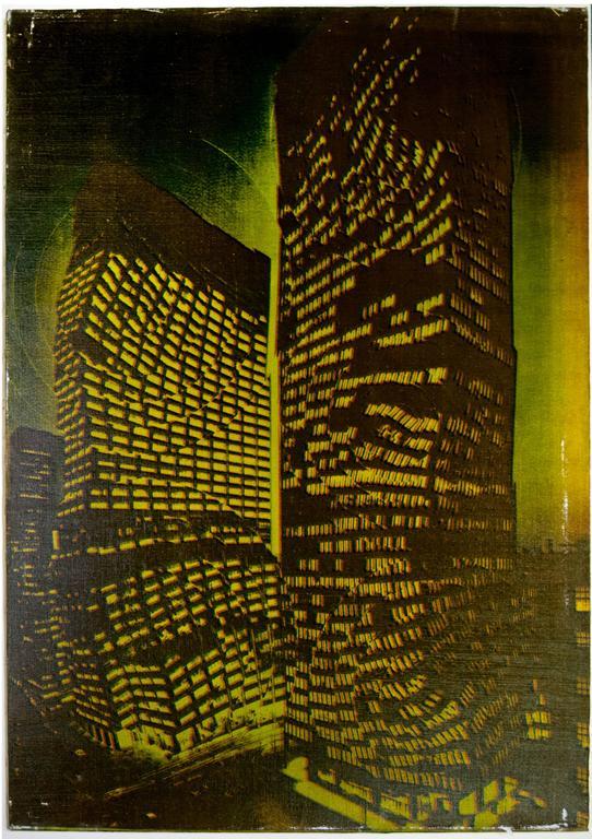 Pol Bury Landscape Print - Park Avenue