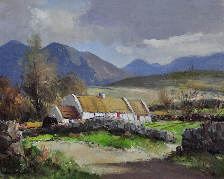 Maurice canning wilks in the mournes at annalong county for Artworks landscape ltd