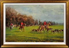 The Fernie Hunt, Opening Meet at Gumley, Leicestershire