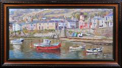 Waterfront, Mousehole, Cornwall