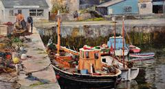 Working boats, Porthleven, Cornwall