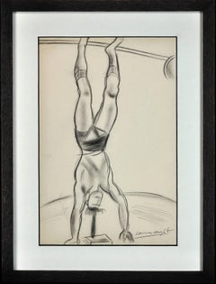 Strength Athlete - Strongman at the circus