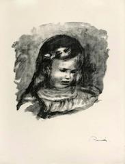 Claude Renoir, le tete baissee