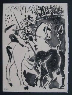 """Picador et Taureau, from """"Le Carmen des Carmen"""""""