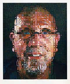 Self-Portrait Screenprint