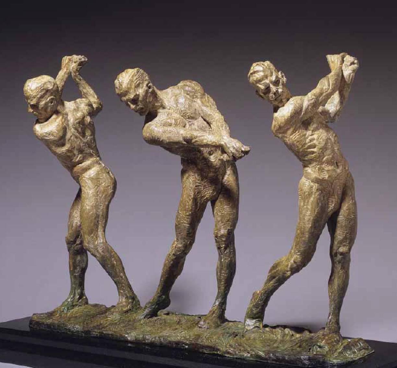 Richard MacDonald - Anatomy of Golf I, IV and V, Bronze Sculpture at ...