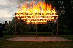 Great Fosters Fire Poem