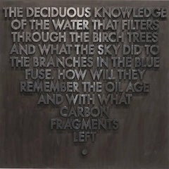 Seattle Poem (Deciduous Knowledge)