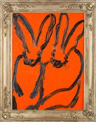 Untitled Bunnies (CRK03167) by Hunt Slonem