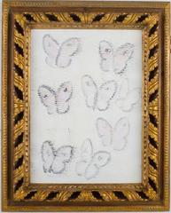 Untitled Butterflies (CS0412) by Hunt Slonem