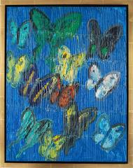 The Blues (butterflies) by Hunt Slonem