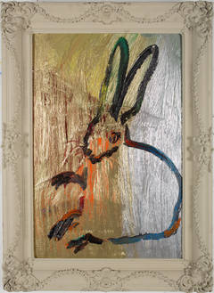 Untitled Bunny (CHL2286) by Hunt Slonem