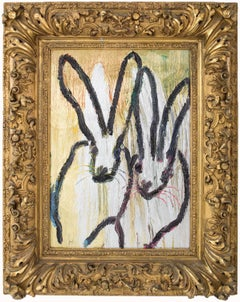 Untitled Bunnies (CER00534) by Hunt Slonem
