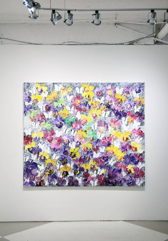 Untitled  - Painting by Hunt Slonem