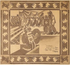 The savages 1920 Depero