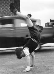 """Handstand"" by Thurston Hopkins, Signed Silver Gelatin Print"