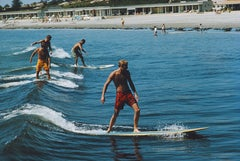 """Surfing Brothers"" By Slim Aarons, Estate Stamped & Limited, Multiple Sizes"