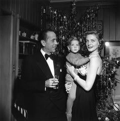 Slim Aarons - Bacall And Bogart (Estate Stamped Limited Edition of 150)